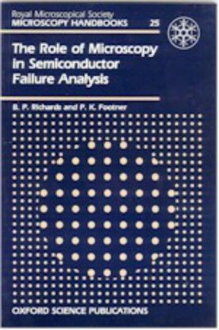 Download Role Microscopy In Semiconductor Failure Analysis (Microscopy Handbooks) 0198564325