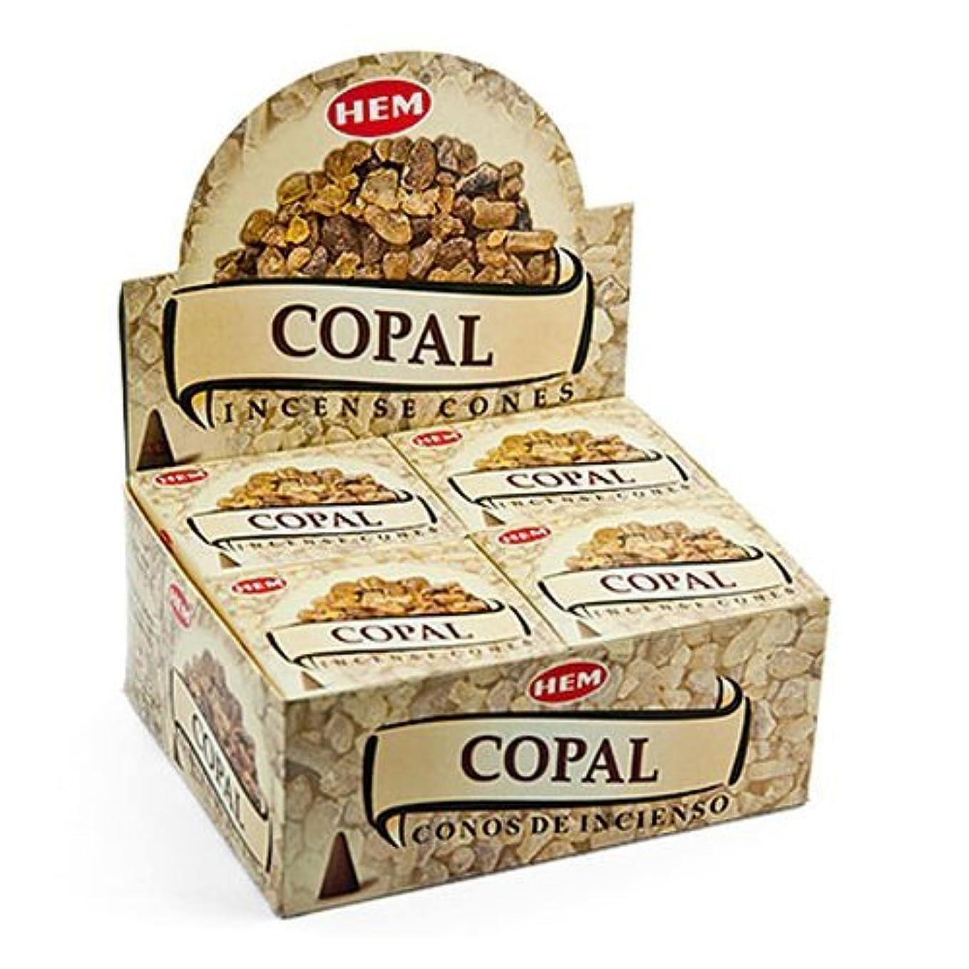 圧力トピック乳剤裾Copal Cones Incense – 4パック、10 Cones 1パック