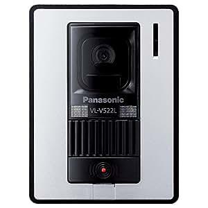 パナソニック カラーカメラ玄関子機Panasonic VL-V522L-WS