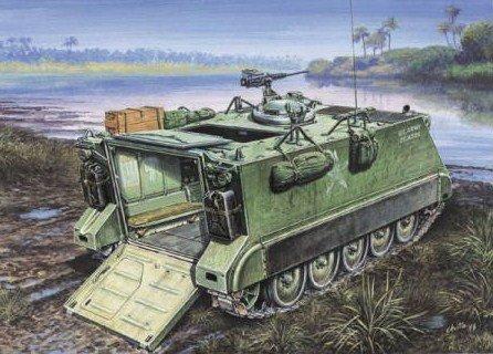 イタレリ 276 1/35 M113A.P.C. 24