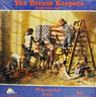 """The Dream Keepers 500 Piece Jigsaw Puzzle 18"""" X 24"""" By Sunsout [並行輸入品]"""