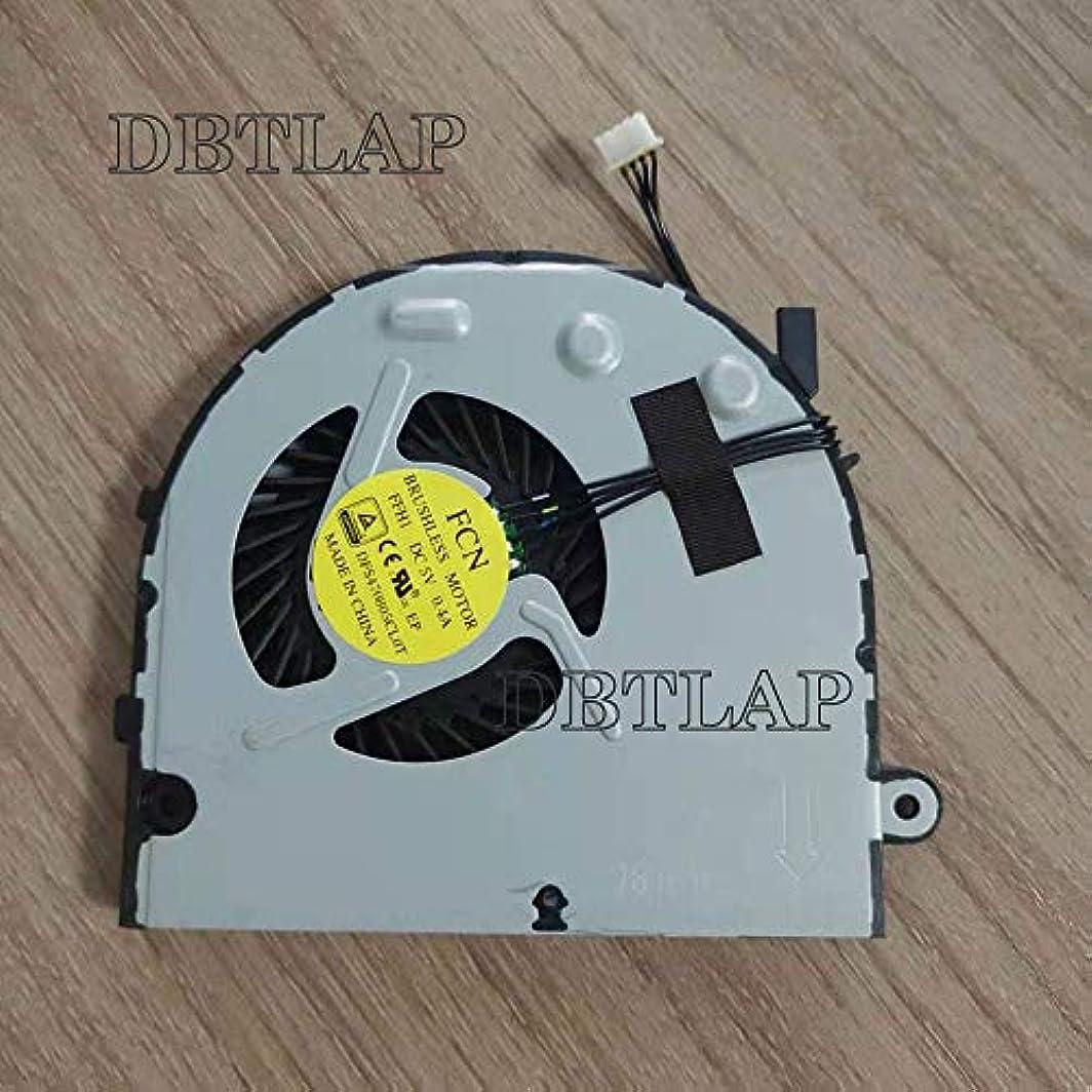 お酢不実予見するDBTLAP ラップトップ CPU 冷却ファン クーラー 互換性あり用 Lenovo B40-30 B40-45 B40-70 B40-80 B50-30 N50-45 FCN FFH1 FFHI DFS470805CL0T ファン