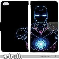 マーベル ヒーロー MARVEL HERO 手帳型 iPhoneXSMax (iPhone XS Max)(G007204_04) 専用 アメコミ アイアンマン pop art センス 個性的 スマホケース