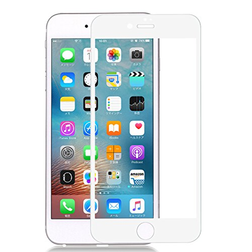 Nimaso iPhone 7 / iPhone 7 Plus 専用 フィルム 全面保護 強化ガラス 日本製素材旭硝子製 ガラスフィルム 液晶保護フィルム 高透過率 3D touch 対応 気泡ゼロ 硬度9H(4.7インチ For iPhone7)