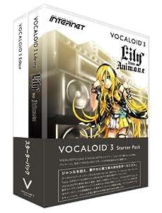 インターネット VOCALOID3 スターターパック Lily