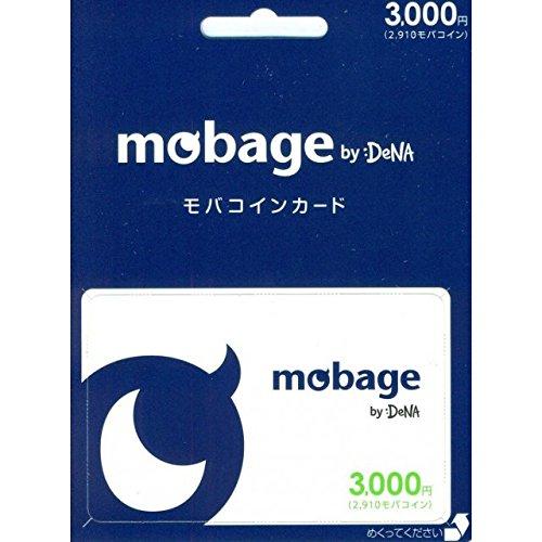 Mobage モバコインカード 3000