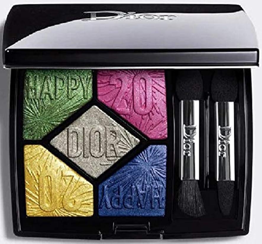 珍しい囲むこの【国内正規品?限定品】Dior ディオール サンク クルール #007 パーティー イン カラーズ <ハッピー 2020> (クリスマス ルック 2019 限定品)?
