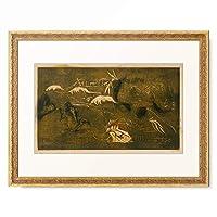 ポール・ゴーギャン Eugene Henri Paul Gauguin 「The Universe Is Created, ca. 1893–1894.」 額装アート作品