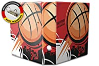 バインダー 2 Ring Binder Lever Arch Folder A4 printed Basketball
