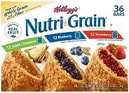 Kellogg's Nutri-Grain Bars Variety Pack ケロッグのニュートリグレインバーバラエティパック1,330g [並行