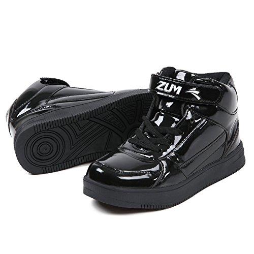 (スム) ZUM ダンス スニーカー ハイカット ZDS115H 37(23.0cm) ブラック