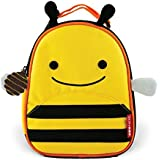 Skip Hop Zoo Lunchie Insulated Kids Lunch Bag, Bee