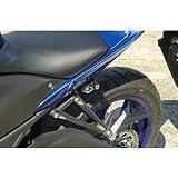 キジマ(Kijima) ヘルメットロック ブラック YZF-R25 303‐1560