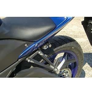 キジマ(Kijima) ヘルメットロック YZF-R25/YZF-R3 MT-25/MT-03 ブラック 303‐1560