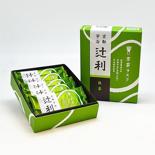 辻利 京茶ラスク 抹茶 (5枚入)