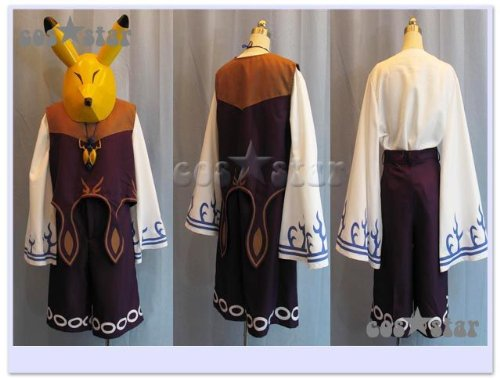 ゼルダの伝説 カーフェイ風 コスプレ衣装 男女XS-XXXL オーダーサイズも対応可能