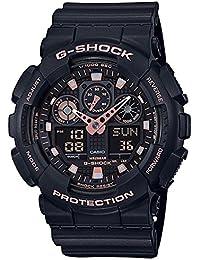 CASIO (カシオ) 腕時計 G-SHOCK(Gショック) ブラック ローズゴールド GA-100GBX-1A4 メンズ 海外モデル  [並行輸入品]