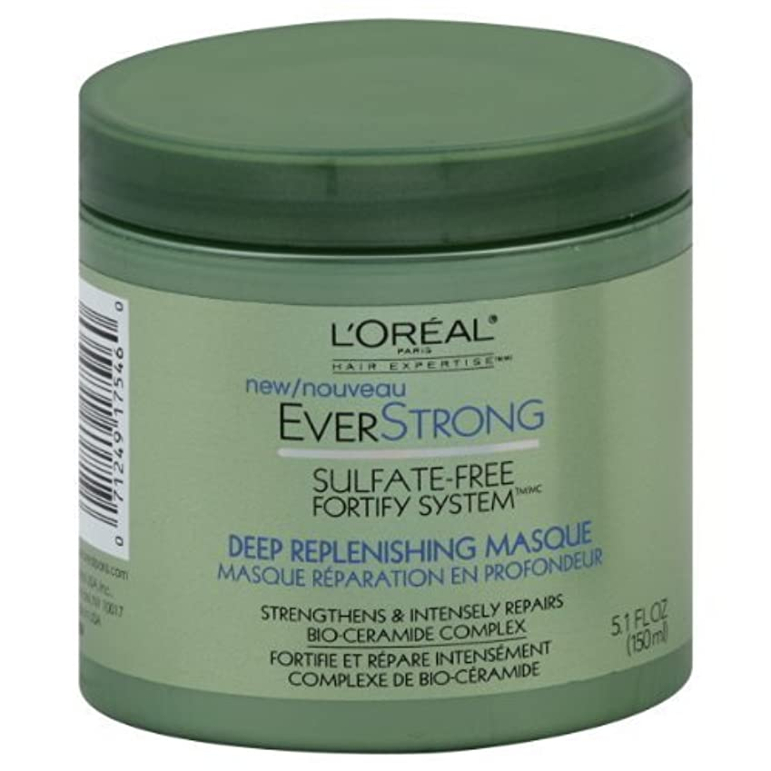 幻滅する水を飲むサイトL'Oreal Paris EverStrong Deep Replenishing Masque 150 ml (並行輸入品)