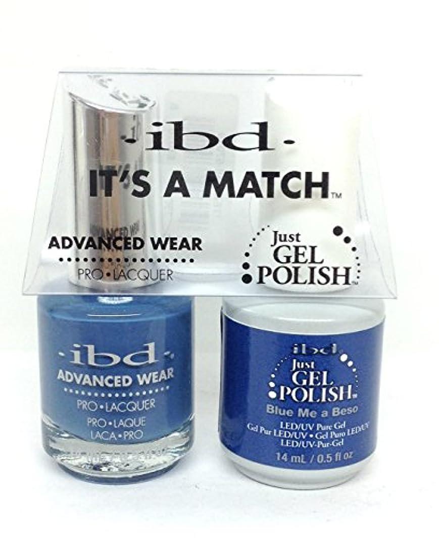 ラメ商業の姉妹ibd - It's A Match -Duo Pack- Love Lola Collection - Blue Me a Beso - 14 mL / 0.5 oz Each