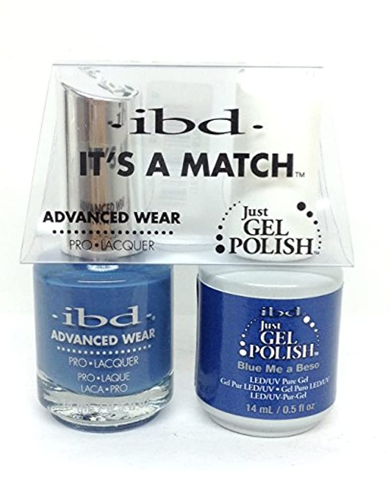 ibd - It's A Match -Duo Pack- Love Lola Collection - Blue Me a Beso - 14 mL / 0.5 oz Each