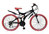 My Pallas(マイパラス) GRAPHIS(グラフィス) MTBマウンテンバイク 26インチ 18段ギア カラー/ブラックレッド GR-005