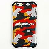 SUNWOLVES(サンウルブズ) オフィシャル iPhone 6/6S ケース(迷彩)SWIC002KM