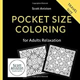 Pocket Size Coloring Books for Adults Relaxation: Mini Coloring Books