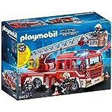Playmobil Fire Ladder Unit toy interlocking building sets, Multi, 89 Pieces