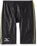 MIZUNO(ミズノ) 競泳水着 エクサースーツ ハーフスパッツ [メンズ] N2MB7077 09)ブラック M