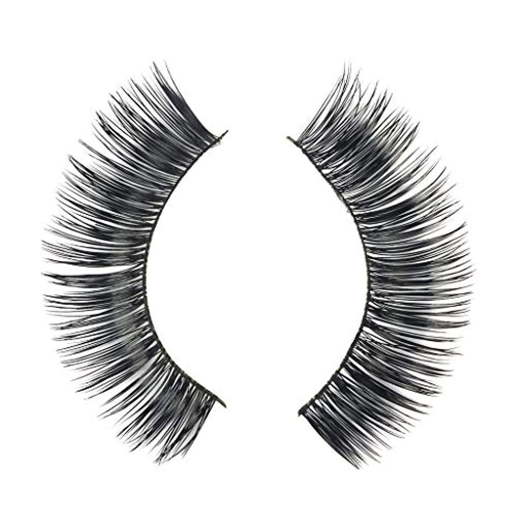 純正完了あごミンクの毛の自然な厚くなる化粧品の3D版のための一組のまつげ
