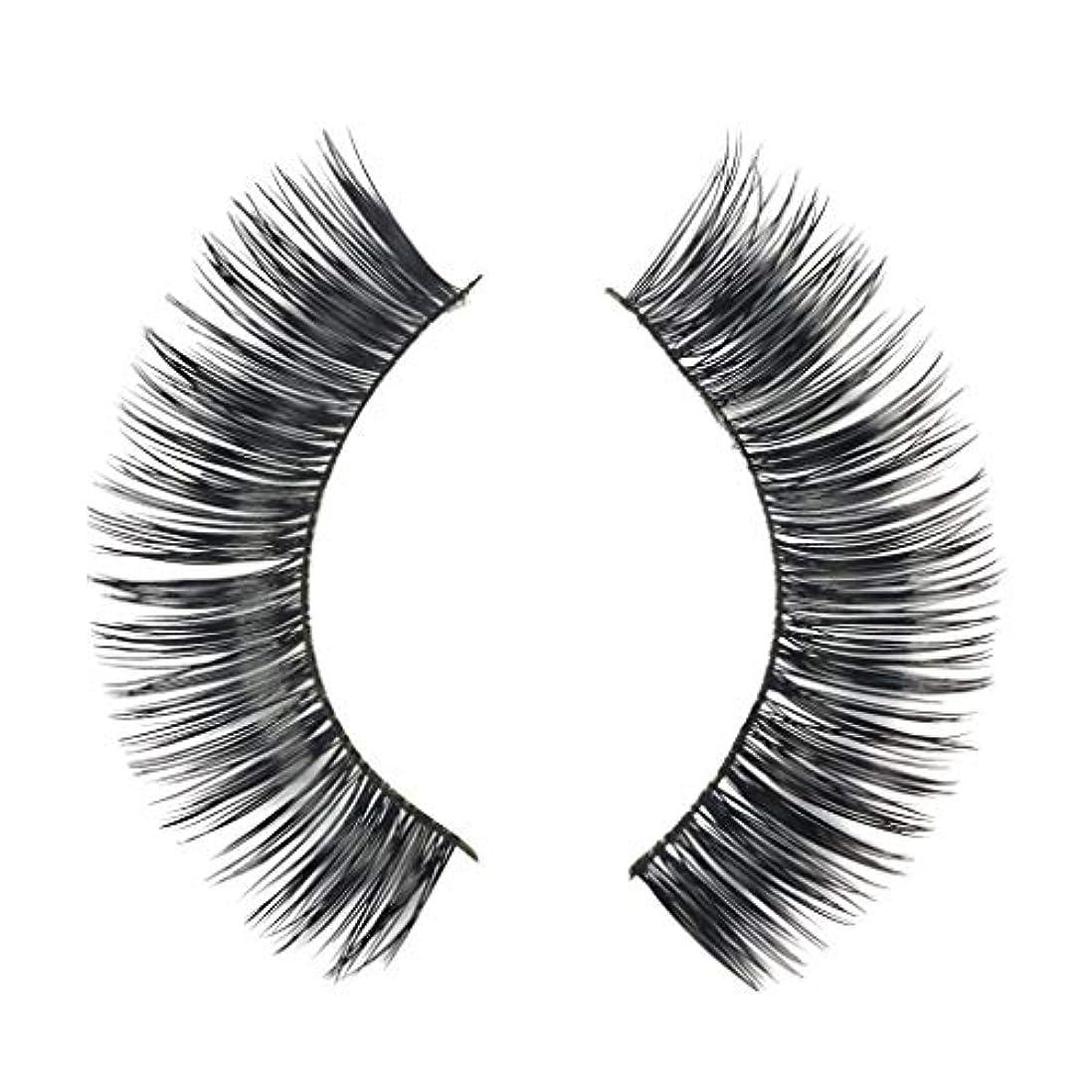 宣教師ゲージこどもの宮殿ミンクの毛の自然な厚くなる化粧品の3D版のための一組のまつげ