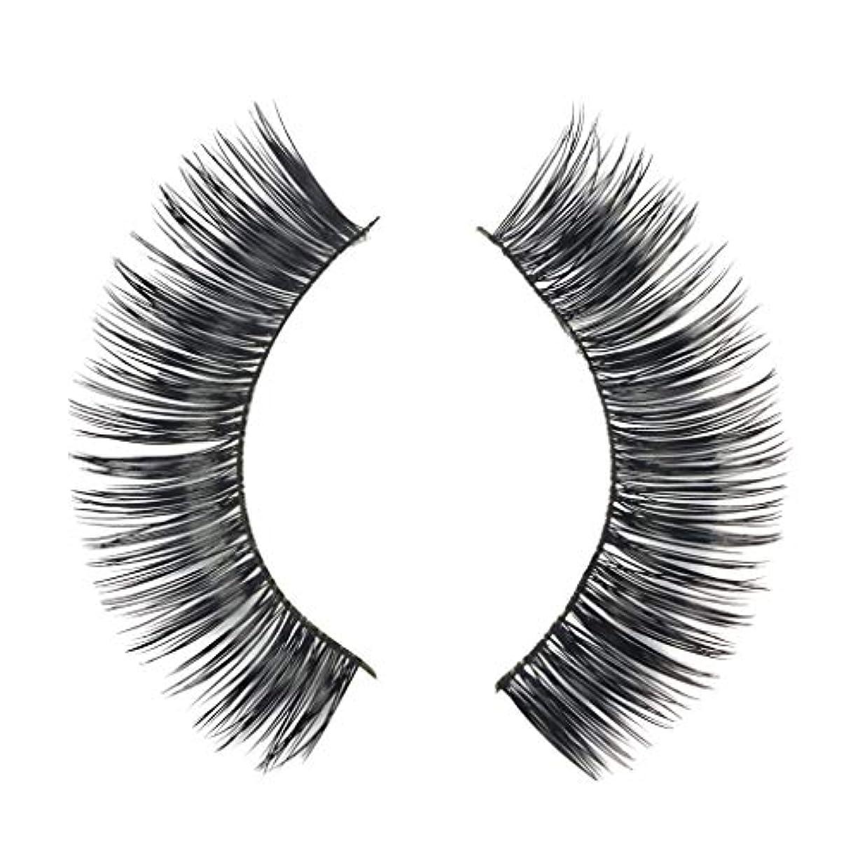 混乱させる生き残り発動機ミンクの毛の自然な厚くなる化粧品の3D版のための一組のまつげ