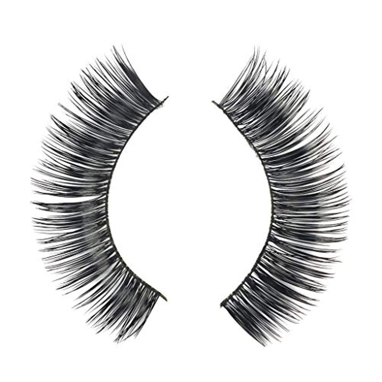 距離一口涙が出るミンクの毛の自然な厚くなる化粧品の3D版のための一組のまつげ
