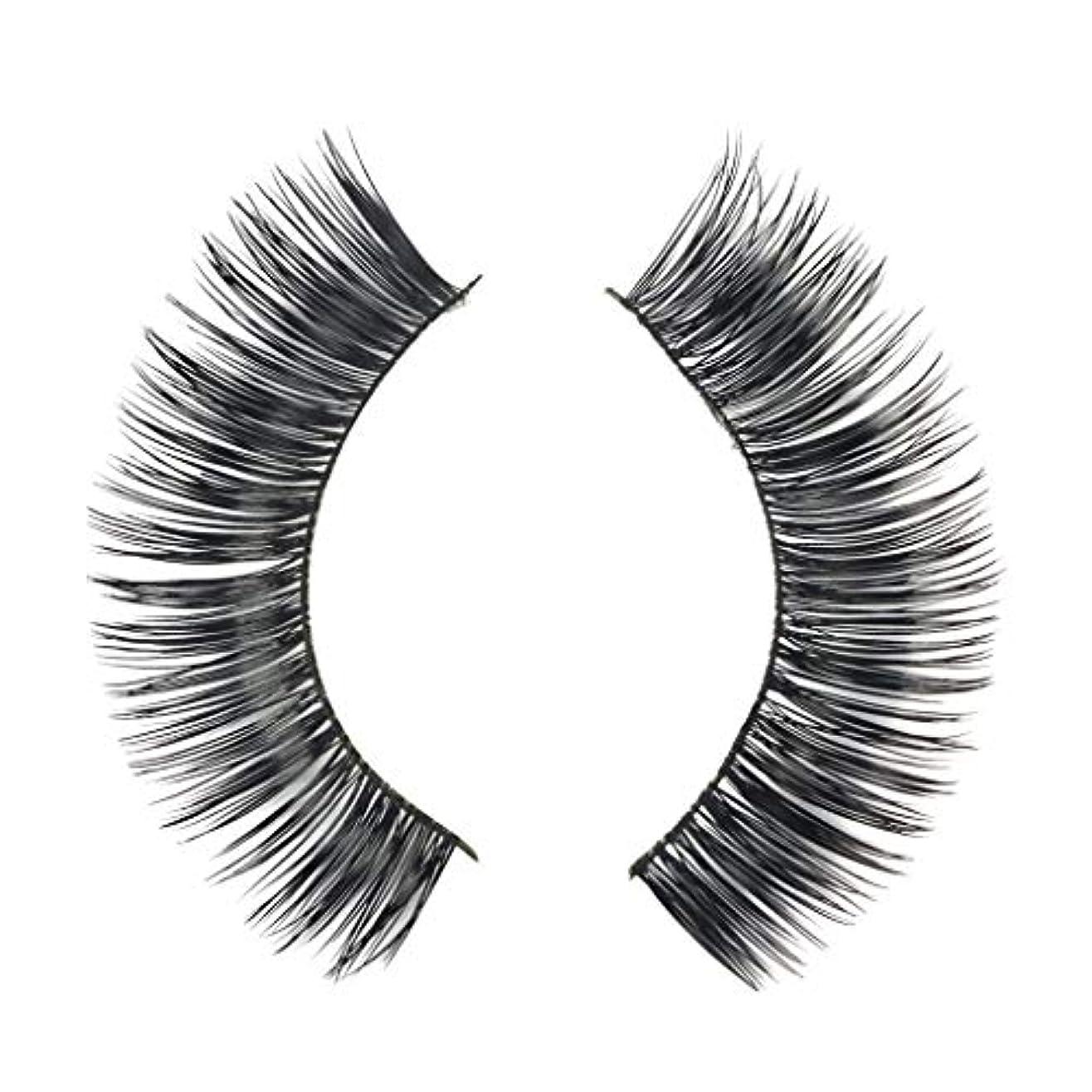 若者神社キャラバンミンクの毛の自然な厚くなる化粧品の3D版のための一組のまつげ