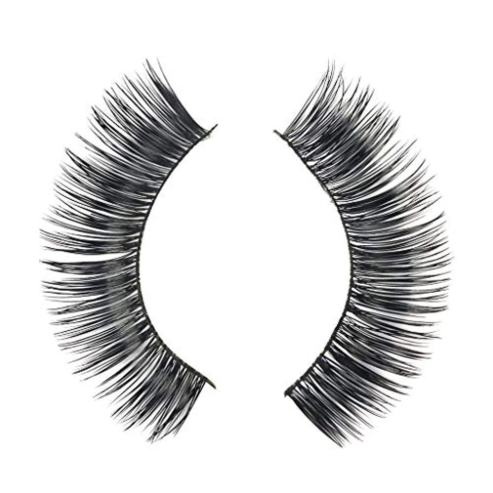 暴行移植ハウスミンクの毛の自然な厚くなる化粧品の3D版のための一組のまつげ