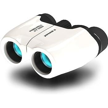 personal-α 双眼鏡 10倍10×22 6.5° (white) たったの137g 超軽量 長時間の使用でも疲れにくい
