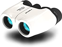 体重 - α 双筒望远镜10倍双筒望远镜10× 226.5° 唯一的137g 超轻长时间使用也不会累 , 白色