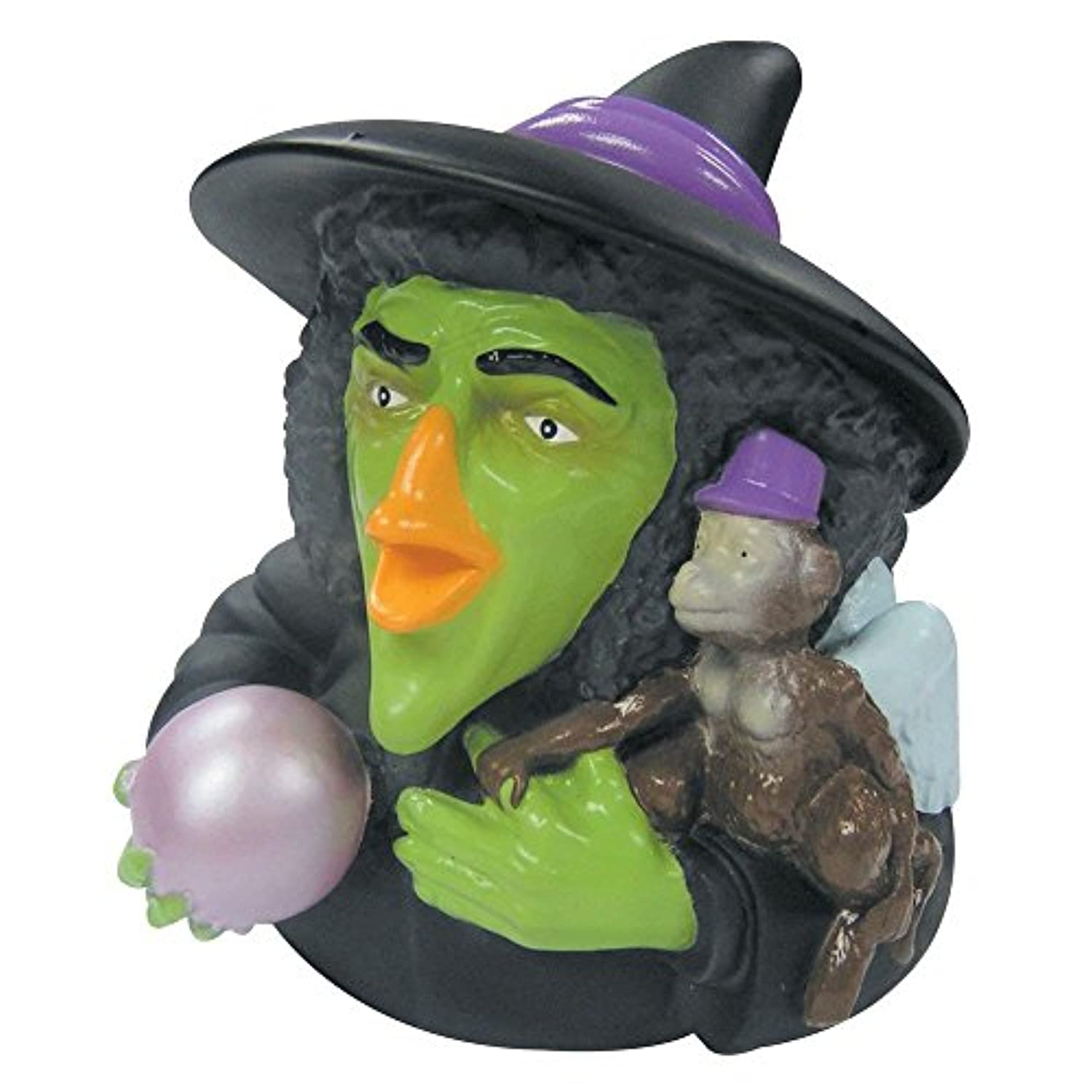 CelebriDucks Wizard of Oz Wicked Witch RUBBER DUCK Bath Toy [並行輸入品]