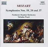 Symphonies 19 20 & 37 by W.A. Mozart (1996-05-03)