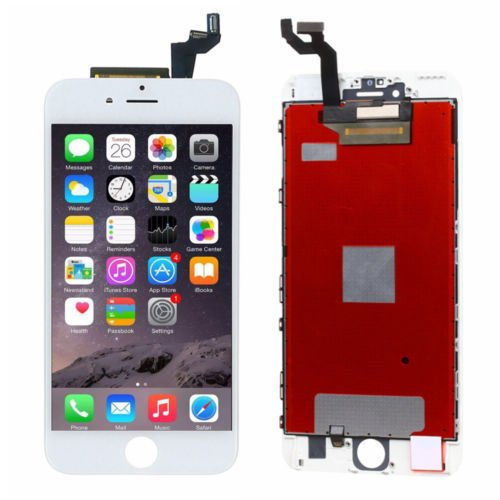ZTR Black LCD Display Touch Screen Digitizer Assembly with Frame for iPhone 6s 4.7 inch