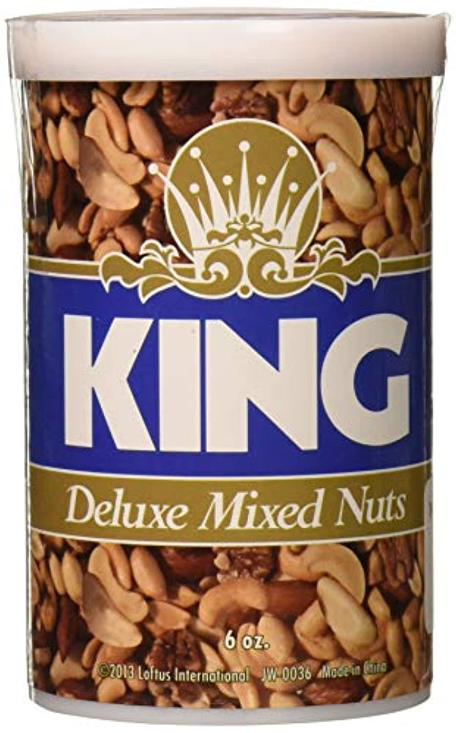 King Deluxe Mixed Nuts - Three Snakes in Each Can by Loftus [Toy] [並行輸入品]