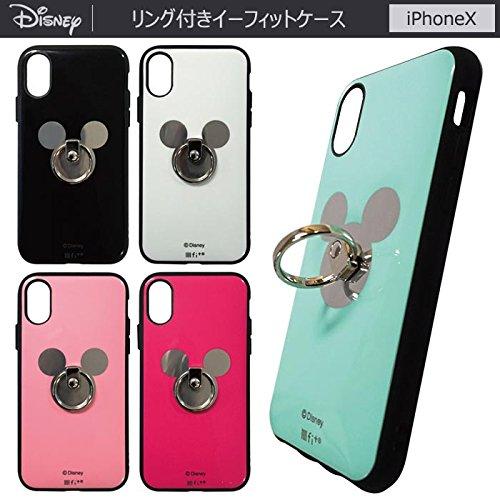 【カラー:ホワイト】iPhoneX ディズニー ミッキーマウ...