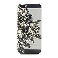 NEXCURIO iPhoneSEケース / iPhone5Sケース / iPhone5ケース シリコン クリア 耐衝撃 擦り傷防止 アイフォン iPhone SE / 5S / 5用ケース カバー おしゃれ - NEHEX11722 透明#10