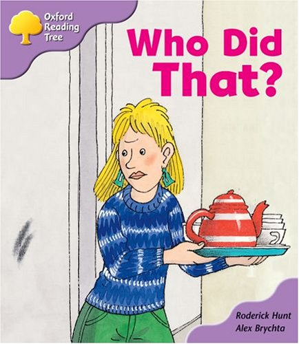 Oxford Reading Tree: Stage 1+: More Patterned Stories: Who Did That?: pack Aの詳細を見る