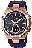 [カシオ] 腕時計 ベビージー G-MS Bluetooth ソーラ MSG-B100G-2AJF レディース ブルー