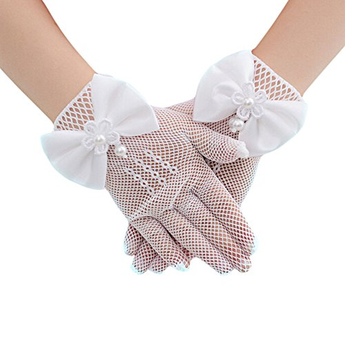 Outflower 手袋 女の子 子供 結婚式用 フォーマル...