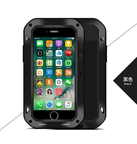 iPhone 7 アルミケース 金属合金 LOVE MEI 正規品 耐衝撃 ...