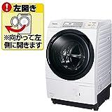 パナソニック 10.0kg ドラム式洗濯乾燥機【左開き】クリスタルホワイトPanasonic エコナビ 即効泡洗浄 NA-VX7600L-W