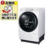 パナソニック 【左開き】10.0kgドラム式洗濯乾燥機 クリスタルホワイト NA-VX7600L-W