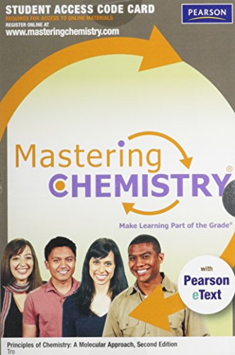 Download MasteringChemistry™ with Pearson eText -- Standalone Access Card -- for Principles of Chemistry: A Molecular Approach (2nd Edition) 0321752228